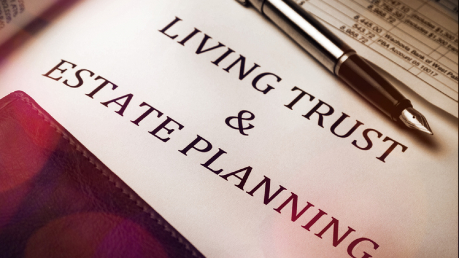 Living trust & estate planning paperwork